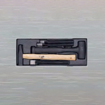 5PCS ENGINEER HAMMER/COLD CHISEL