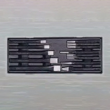 13PCS COLD CHISEL - PS TRAY